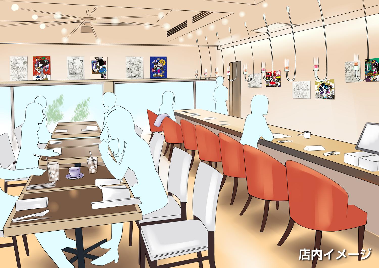 中村佑介のイラスト原画を観ながらくつろげるカフェ空間が誕生~<期間限定>中村佑介ギャラリーカフェ~